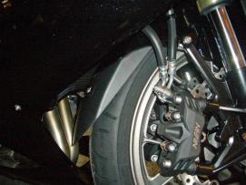 chlapak błotnika Kawasaki ZZR1400 GTR1400