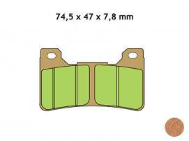 klocki hamulcowe VESRAH VD-170JL