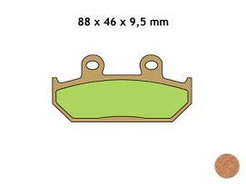 klocki hamulcowe VESRAH VD-143/2JL