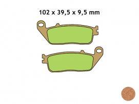 klocki hamulcowe VESRAH VD-156/2JL