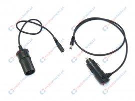 gniazdo zapalniczki na kablu z USB do torby na zbiornik